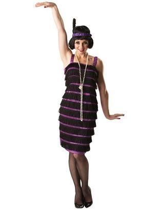 Ladies Flapper Dress Costume